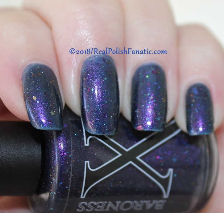 Baroness X Polish - In A Galaxy Purr, Purr Away -- November 2017 Cats In Space Box (4)
