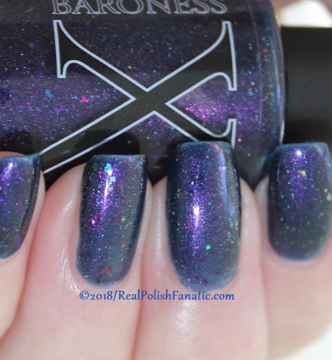Baroness X Polish - In A Galaxy Purr, Purr Away -- November 2017 Cats In Space Box (5)