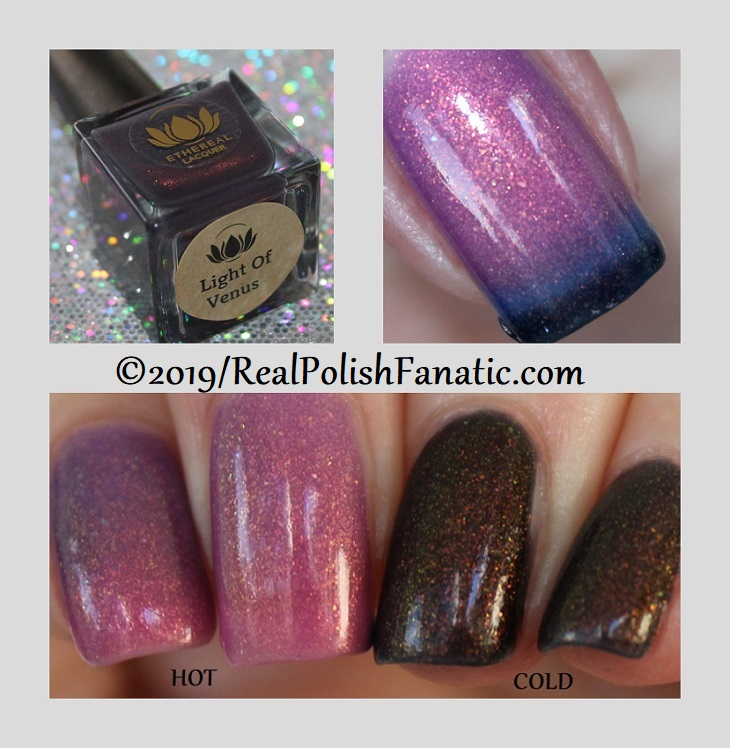 ethereal lacquer - light of venus -- december 2018 mystery bag