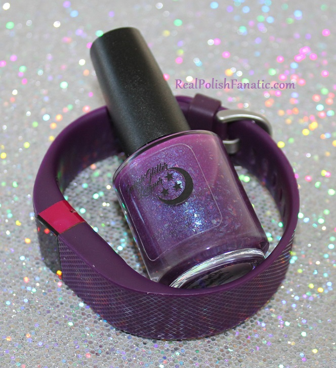 geekish glitter lacquer - the water bearer -- zodiac series aquarius (1.3)
