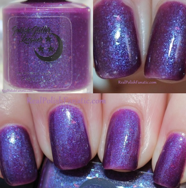 geekish glitter lacquer - the water bearer -- zodiac series aquarius