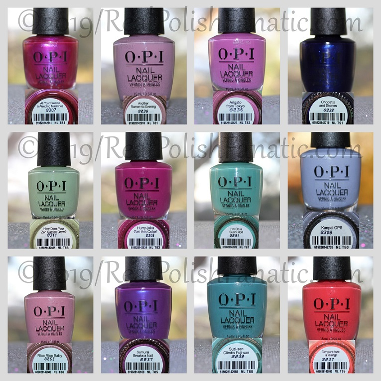 opi tokyo collection - spring 2019 (1)