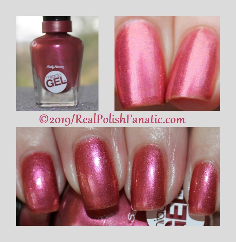 sally hansen miracle gel - saturn it up!