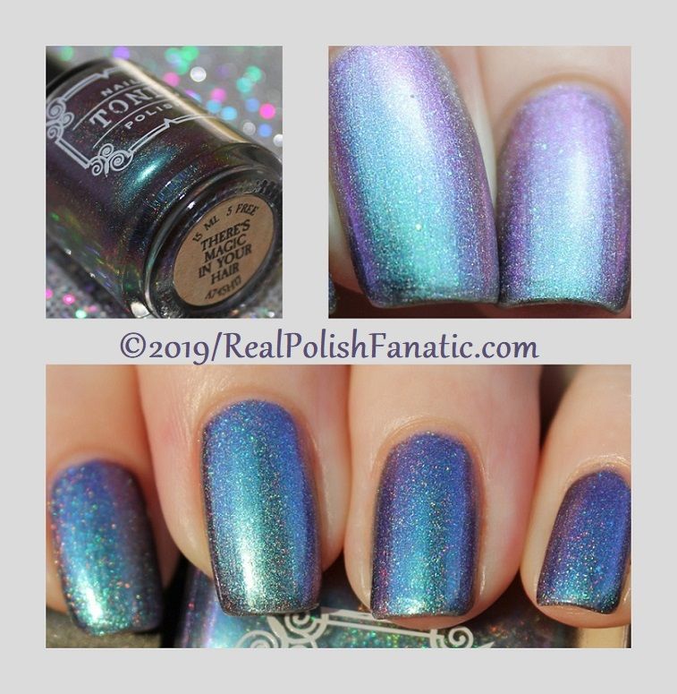 tonic polish - there's magic in your hair 2.0 -- january 2019 release