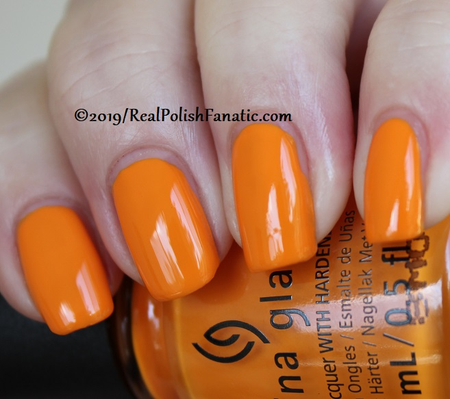 China Glaze - Good As Marigold -- The Arrangement Collection Spring 2019 (14)