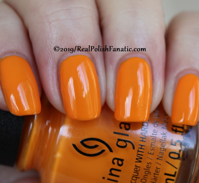 China Glaze - Good As Marigold -- The Arrangement Collection Spring 2019 (15)