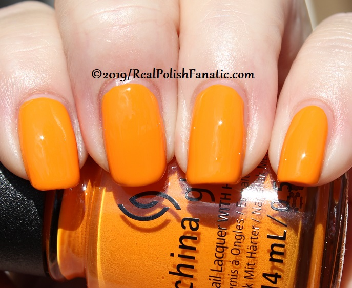 China Glaze - Good As Marigold -- The Arrangement Collection Spring 2019 (17)