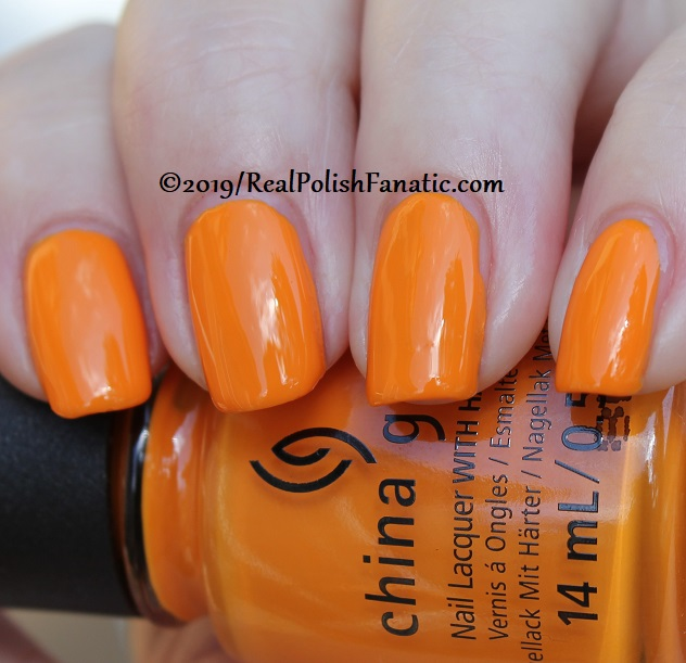 China Glaze - Good As Marigold -- The Arrangement Collection Spring 2019 (18)