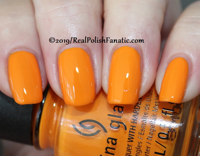 China Glaze - Good As Marigold -- The Arrangement Collection Spring 2019 (6)