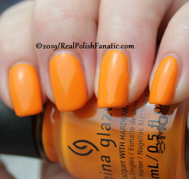 China Glaze - Good As Marigold -- The Arrangement Collection Spring 2019 (9)