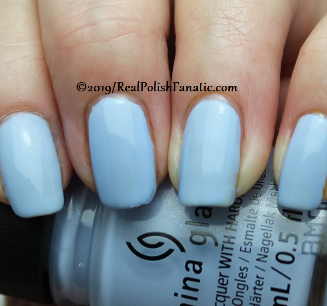 China Glaze - Hydangea Dangea -- The Arrangement Collection Spring 2019 (9)
