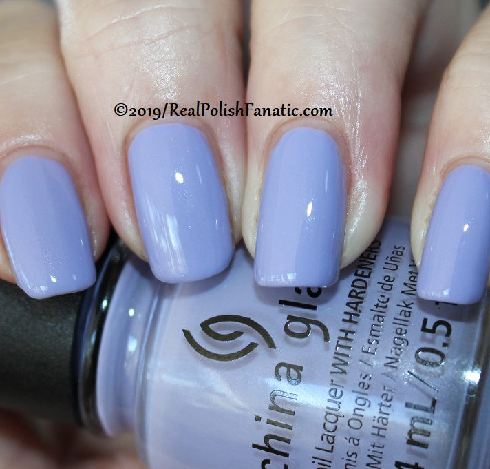 China Glaze - Lavenduh! -- The Arrangement Collection Spring 2019 (13)