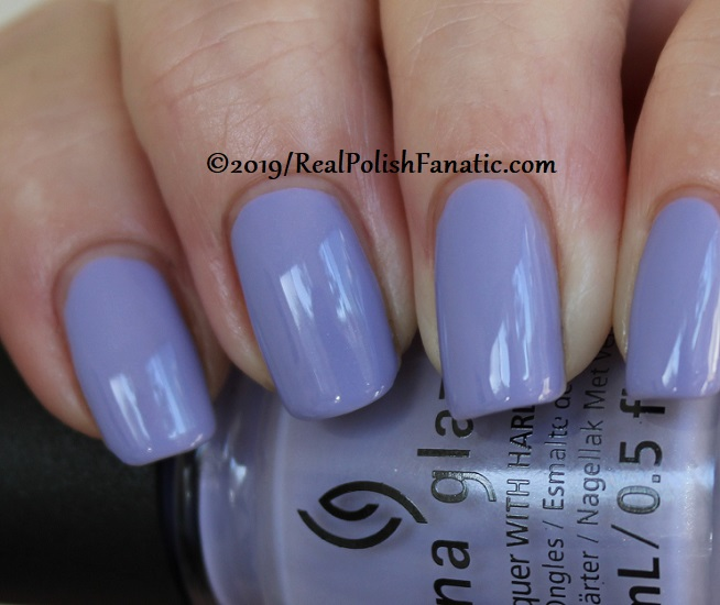 China Glaze - Lavenduh! -- The Arrangement Collection Spring 2019 (16)