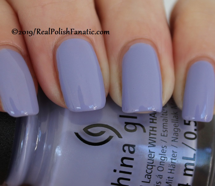 China Glaze - Lavenduh! -- The Arrangement Collection Spring 2019 (18)