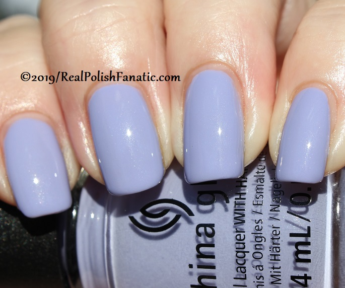 China Glaze - Lavenduh! -- The Arrangement Collection Spring 2019 (20)
