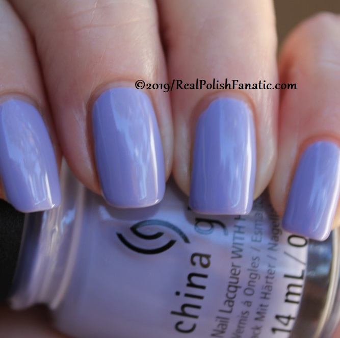 China Glaze - Lavenduh! -- The Arrangement Collection Spring 2019 (21)