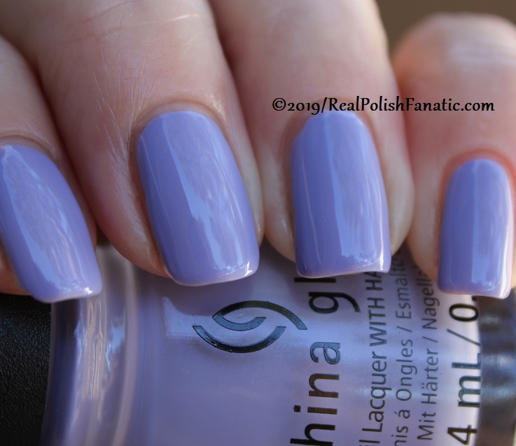 China Glaze - Lavenduh! -- The Arrangement Collection Spring 2019 (22)
