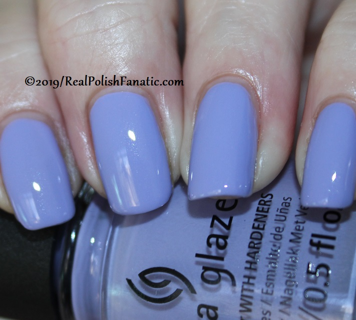 China Glaze - Lavenduh! -- The Arrangement Collection Spring 2019 (3)