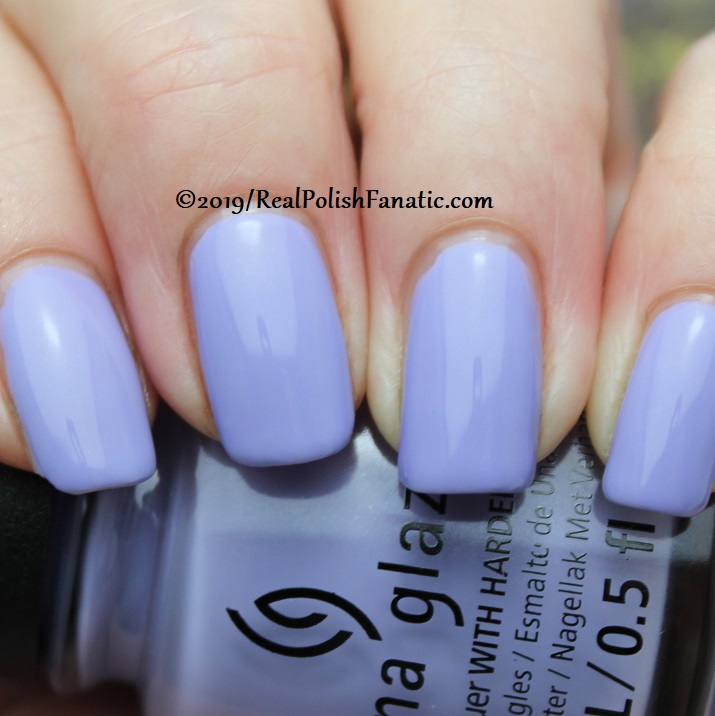 China Glaze - Lavenduh! -- The Arrangement Collection Spring 2019 (9)