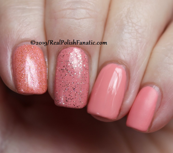 China Glaze - Señora Flora with Better Than Nectar, Wildflower Hour, Glossy topcoat -- The Arrangement Collection Spring 2019 (9)