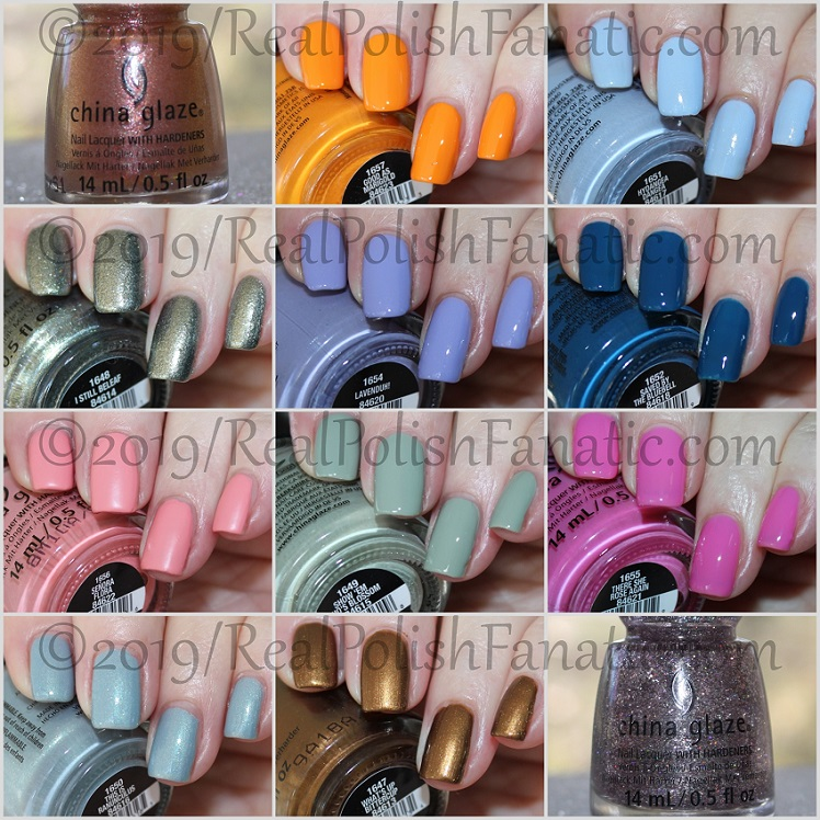 China Glaze The Arrangement Collection Spring 2019 (1)
