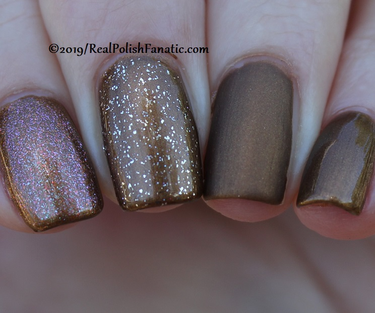 China Glaze - What's Up Bittercup with Better Than Nectar, Wildflower Hour, Matte topcoat -- The Arrangement Collection Spring 2019 (15)