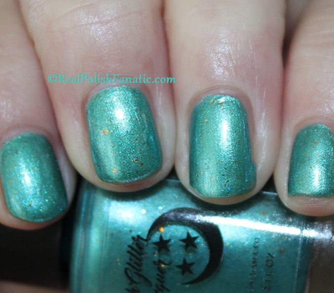Geekish Glitter Lacquer - The Fish -- Pisces Zodiac Series (11)