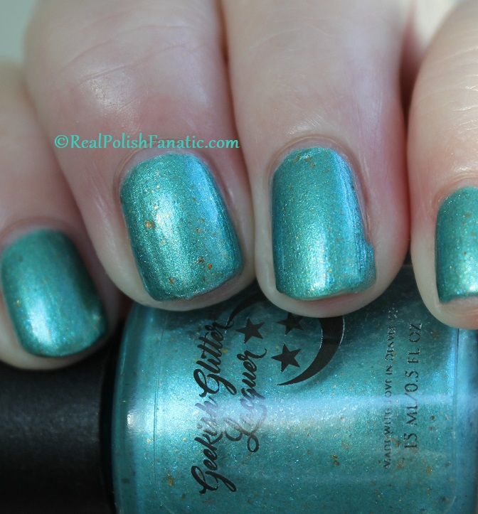 Geekish Glitter Lacquer - The Fish -- Pisces Zodiac Series (14)
