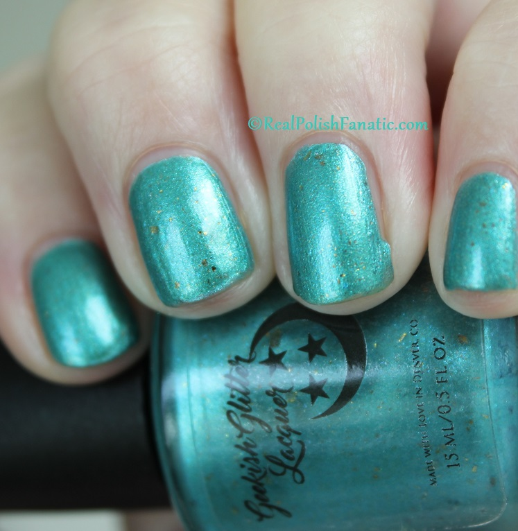 Geekish Glitter Lacquer - The Fish -- Pisces Zodiac Series (15)