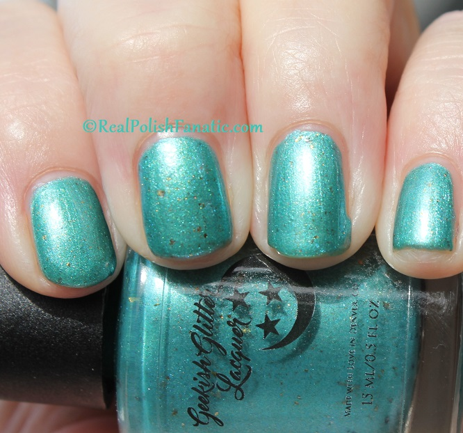 Geekish Glitter Lacquer - The Fish -- Pisces Zodiac Series (17)