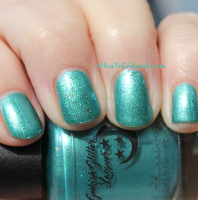Geekish Glitter Lacquer - The Fish -- Pisces Zodiac Series (19)