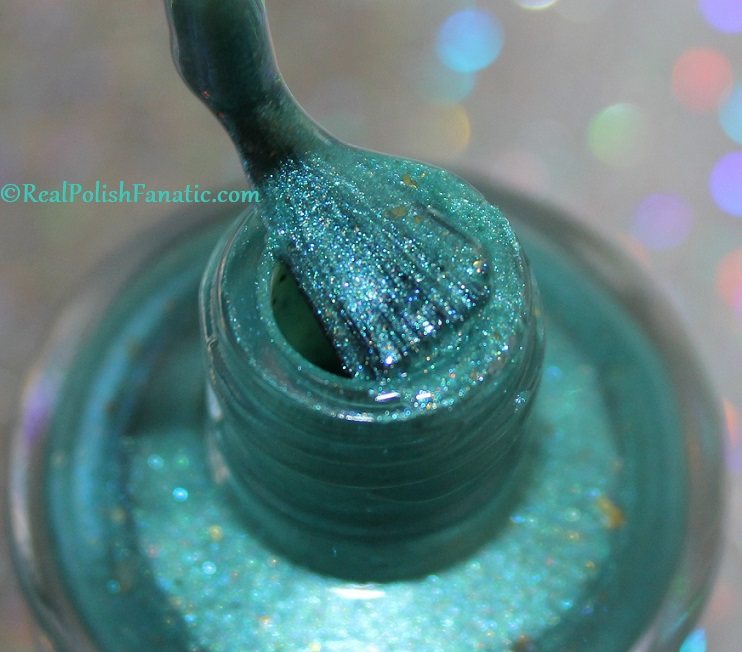 Geekish Glitter Lacquer - The Fish -- Pisces Zodiac Series (5)