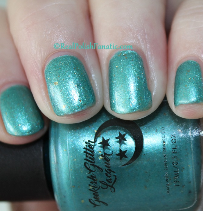 Geekish Glitter Lacquer - The Fish -- Pisces Zodiac Series (7)