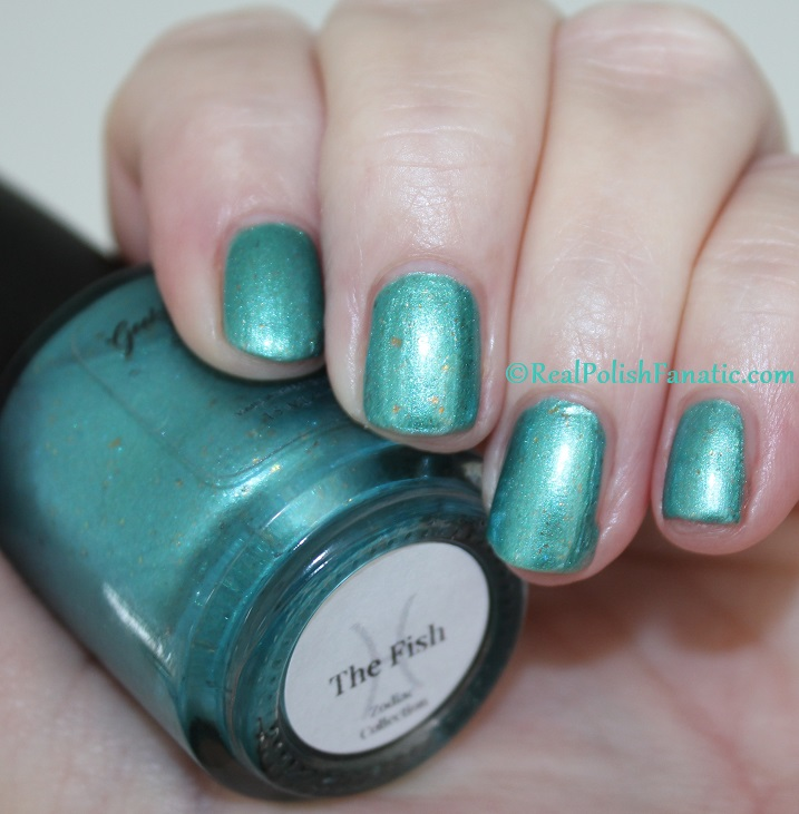 Geekish Glitter Lacquer - The Fish -- Pisces Zodiac Series (8)