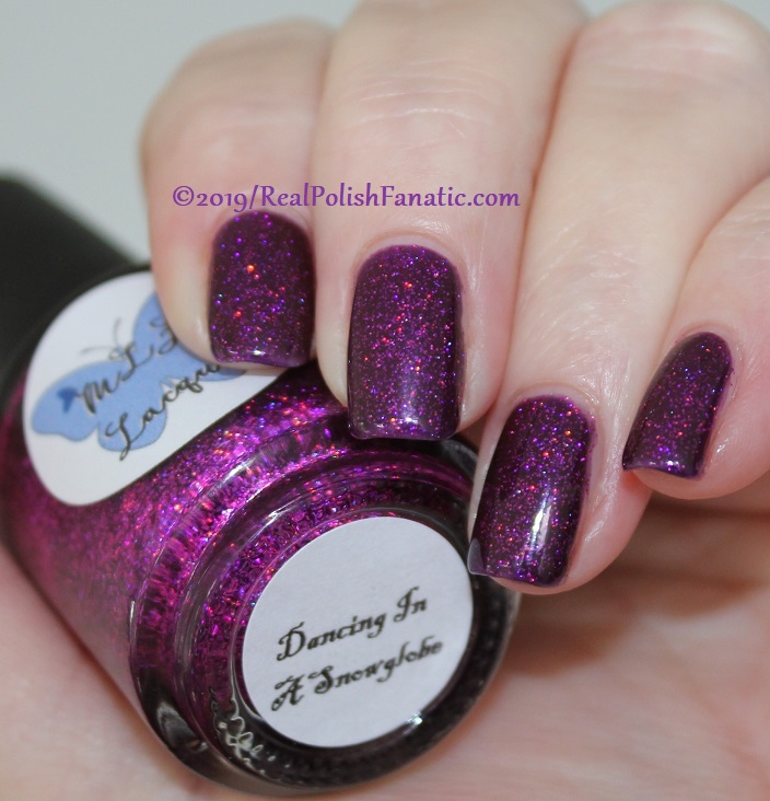 MLF Lacquer - Dancing In A Snowglobe -- February 2019 Debut Lovers Collection (10)