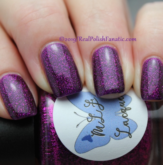 MLF Lacquer - Dancing In A Snowglobe -- February 2019 Debut Lovers Collection (15)
