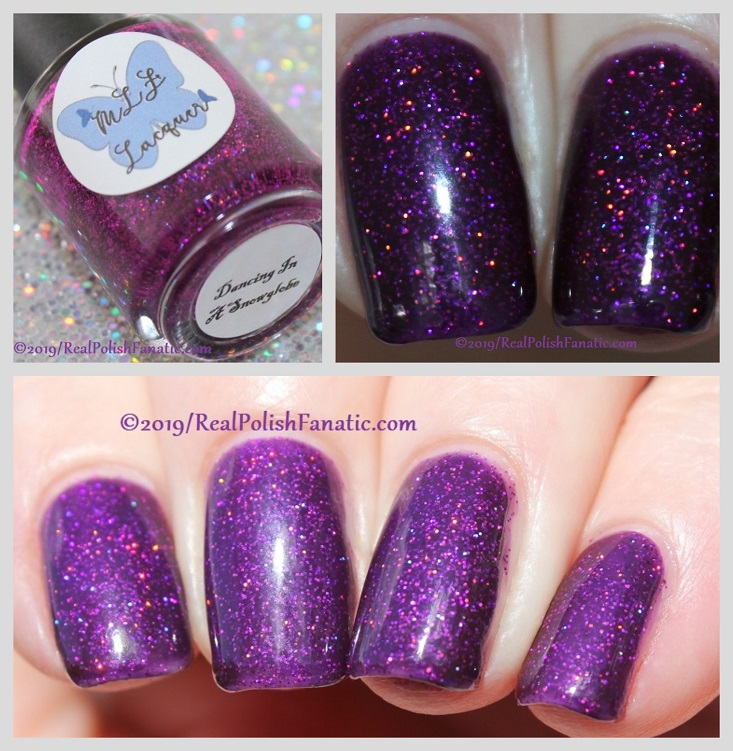 MLF Lacquer - Dancing In A Snowglobe -- February 2019 Debut Lovers Collection