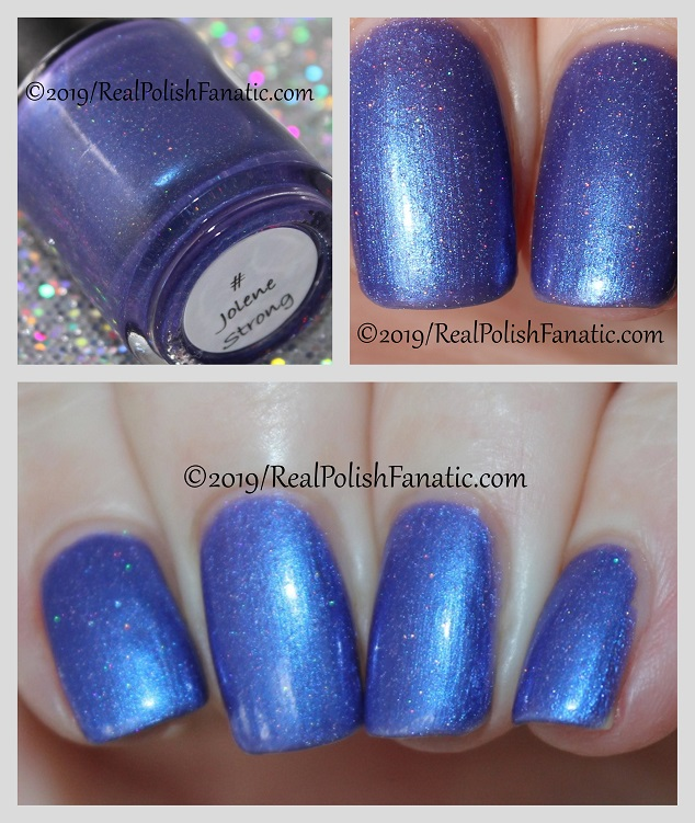 MLF Lacquer - Jolene Strong -- LE Polish for Charity