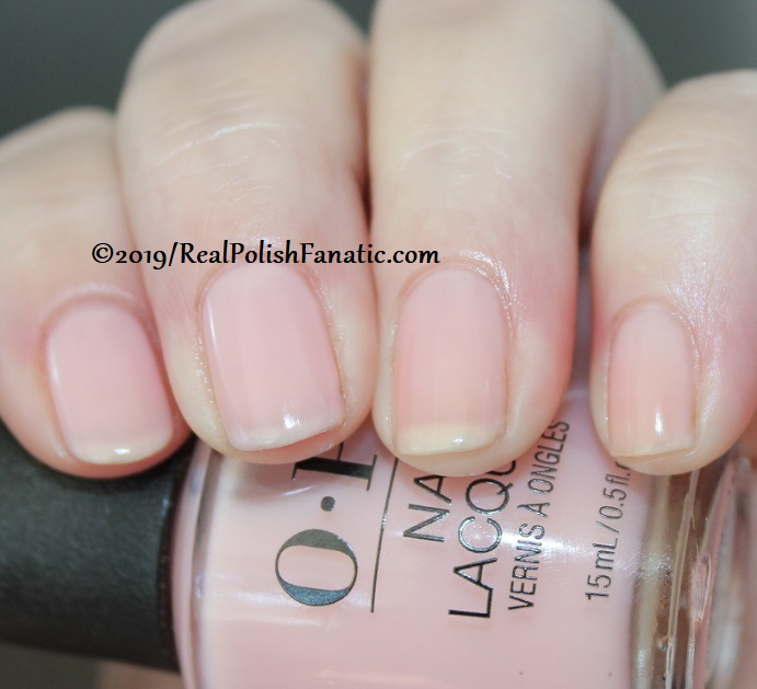 OPI - Baby, Take A Vow -- Always Bare For You Collection - Soft Shades Spring 2019 (18)