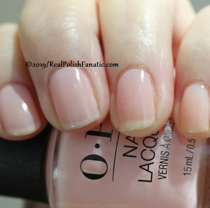 OPI - Baby, Take A Vow -- Always Bare For You Collection - Soft Shades Spring 2019 (20)