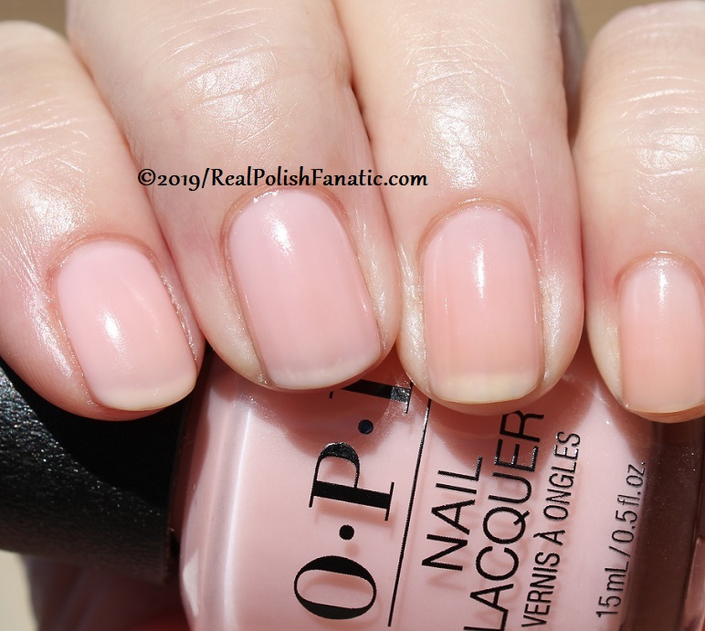 OPI - Baby, Take A Vow -- Always Bare For You Collection - Soft Shades Spring 2019 (23)