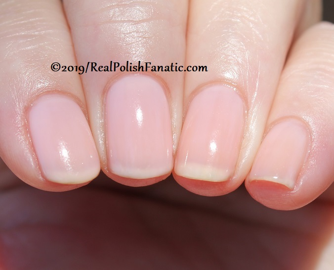 OPI - Baby, Take A Vow -- Always Bare For You Collection - Soft Shades Spring 2019 (31)