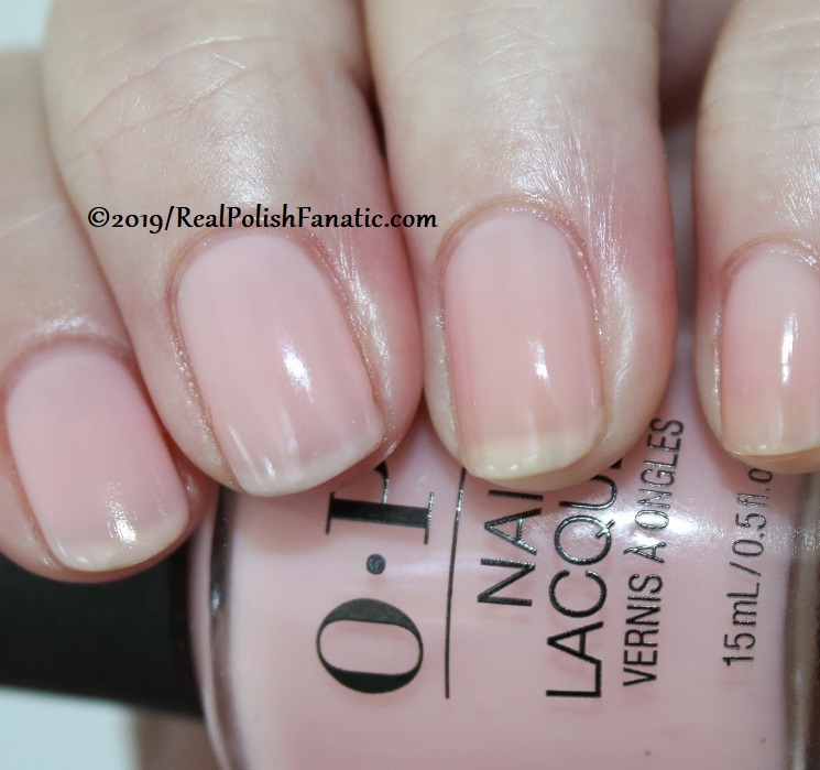 OPI - Baby, Take A Vow -- Always Bare For You Collection - Soft Shades Spring 2019 (4)