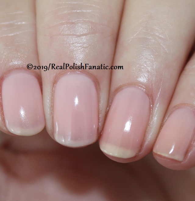 OPI - Baby, Take A Vow -- Always Bare For You Collection - Soft Shades Spring 2019 (6)
