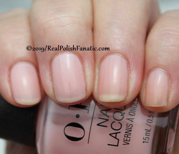 OPI - Baby, Take A Vow -- Always Bare For You Collection - Soft Shades Spring 2019 (9)
