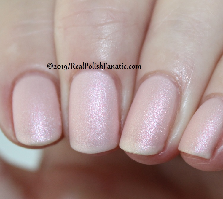 OPI - Baby, Take A Vow and Throw Me A Kiss (matte) -- Always Bare For You Collection - Soft Shades Spring 2019 (2)