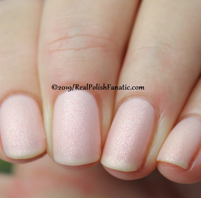 OPI - Baby, Take A Vow and Throw Me A Kiss (matte) -- Always Bare For You Collection - Soft Shades Spring 2019 (7)