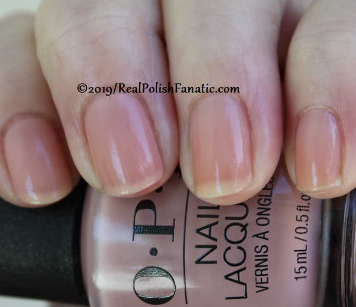 OPI - Bare My Soul -- Always Bare For You Collection - Soft Shades Spring 2019 (24)