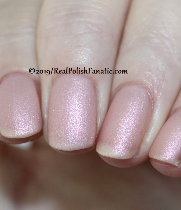 OPI - Bare My Soul and Throw Me A Kiss (matte) -- Always Bare For You Collection - Soft Shades Spring 2019 (9)