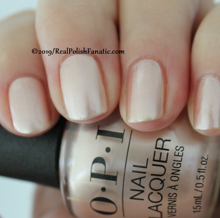 OPI - Chiffon-d of You -- Always Bare For You Collection - Soft Shades Spring 2019 (5)